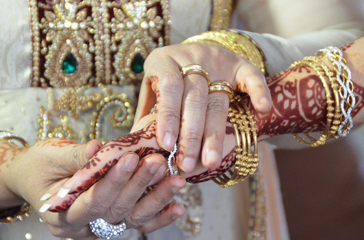 afroz bröllop